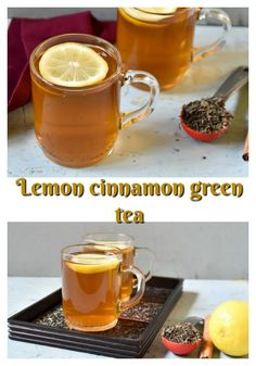 Lemon cinnamon green