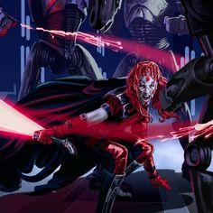 Zabrak Sith /by ?? #StarWars #art