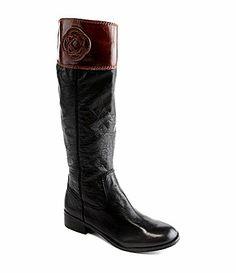 Antonio Melani Effie Riding Boots | Dillards | Are they shiny?