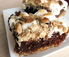 S'more Brownie Bars