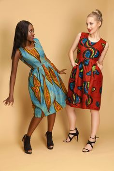 Oyema Dress Casual yet Chic Design # Africanprint Dress Casual, African, Summer Dresses, Inspired, Chic, Womens Fashion, Inspiration, Design, Shabby Chic