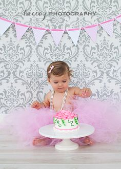 1 year old photo shoot   Becca J Photography