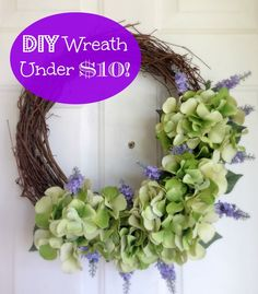 DIY Wreath for Under