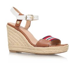 147c03b1d Emery 87c Tommy Hilfiger Tan (£39) ❤ liked on Polyvore featuring shoes