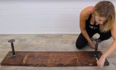 This Easy Industrial Project Is Not A Bench But Something Much More Useful! - http://www.wisediy.com/this-easy-industrial-project-is-not-a-bench-but-something-much-more-useful/