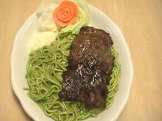 my favorite dish!! peruvian pesto spaguetti