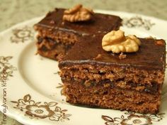 Kavart csokis – diós sütemény, a nagyi receptje alapján! Mennyei finomság!