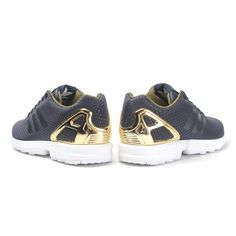 cheap for discount 4b8a2 b0c14 Adidas Zx Flux Blue, Adidas Torsion Zx Flux, Navy Gold, Rita Ora, Adidas  Originals, Baby Shoes, Sneaker, Sneakers, Athletic Shoes