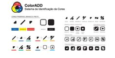 Color is for all! The ColorADD allows any color blind to distinguish colors through the code that represents the colors in graphic symbols.