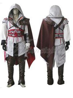 Hot Sale Women Men's Assassin's Creed Ezio 2 II Anime Cosplay Costume Dress Up   eBay