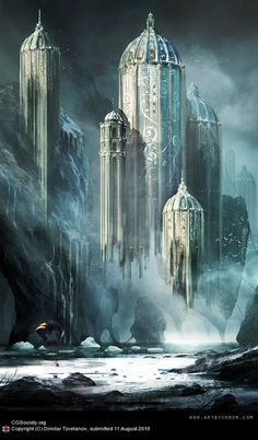 Image result for ice castle art