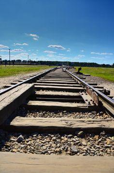 The trail to death.. Taken at Auschwitz ll Birkenau