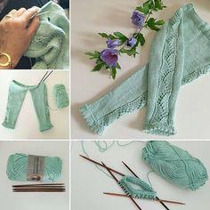 En favorit bliver til Love Knitting, Baby Hats Knitting, Knitting For Kids, Baby Knitting Patterns, Knitting Projects, Hand Knitting, Crochet Patterns, Hand Knitted Sweaters, Baby Sweaters
