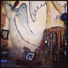DeGrazia's Mission in the Sun open daily from 10-4, free admission. #DeGrazia #GalleryInTheSun #ArtGallery #NationalHistoricDistrict #Gallery #Adobe #Tucson #Arizona #MissionInTheSun #Mission #Murals #Guadalupe #Shrines