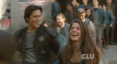 Blakes - The 100 CW - Bellamy Blake Octavia - Bob Morley Marie Avgeropoulos #The100