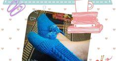Cómo tejer pantuflas en dos agujas paso a paso