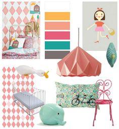 Meisjeskamer - inspiratie voor Vera's kamer