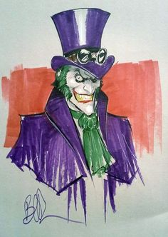 Joker the Ripper by Joe Benitez