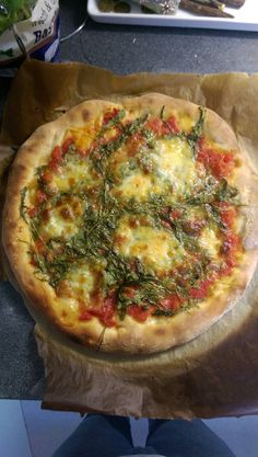 Pizza Rucola #pizza #food #foodporn #yummy #love #dinner #salsa #recipe