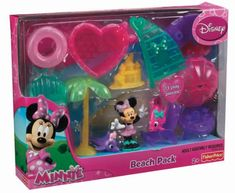 Fisher-Price Disney Minnie Mouse Beach Pack Playset New/Sealed Great Gift! Frozen Birthday Party, 9th Birthday, Birthday Ideas, Fisher Price, Minnie Mouse Toys, Kids Living Rooms, Mickey Mouse Wallpaper, Kids Makeup, Toddler Toys
