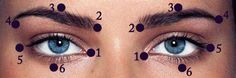 Binlerce İnsan Bu Metodla Gözlükten Kurtuldu Thousands of people got rid of glasses with this method Health Vitamins, Reflexology, Alternative Medicine, Diet And Nutrition, Health Remedies, Natural Health, Health And Beauty, Makeup Tips, Makeup Ideas