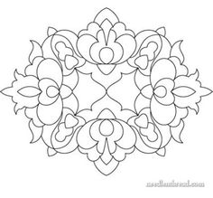 Free embroidery pattern | Needlework News | CraftGossip.com