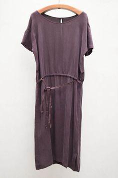 Humanoid Eggplant Dobby Dress at Heist