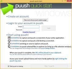 Puush, software gratuito para compartir archivos y screenshots