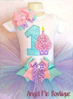 Baby Girl& First Birthday Outfit No. 1 by AngelPieBoutique Baby Girl First Birthday, 1st Birthday Outfits, My Baby Girl, First Birthday Parties, Baby Love, Girl Birthday, First Birthdays, Birthday Tutu, Birthday Ideas