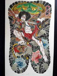 Japanese Style, Japanese Art, Back Piece Tattoo, Japan Tattoo, Samurai Tattoo, Back Pieces, Coke, Lunges, Tatoo