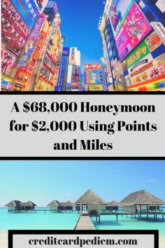 A $68,000 Honeymoon