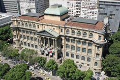Biblioteca Nacional - Localizada no centro do Rio de Janeiro , a Biblioteca Nacional e a depositaria do patrimonio biografico e documental do Brasil, considerada pela UNESCO como a setima maior biblioteca do mundo e, tambem, e a maior biblioteca da America Latina. - Rio de Janeiro - Pesquisa Google
