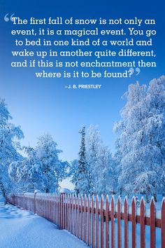 Winter Quotes to Help You See the Beauty of Every Snowfall