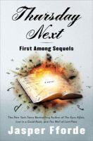 Book Title Image - First among sequels : a Thursday Next novel