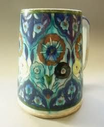 Do you like the pattern on this antique mug?