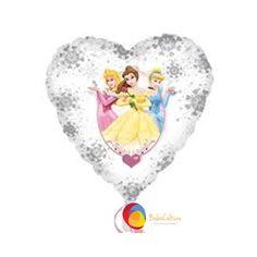 Balão Transparente Princesas. Tamanho: 18 polegadas (45 cm). Marca Anagran. Você encontra na Balão Cultura. Contate nos: www.balaocultura.com.br  #balaoprincesas #balãoprincesas #decoracaoprincesas #decoraçãoprincesas #decoracaocombaloes #balaocultura