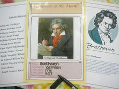Composer of the Month- educate students on what kinds of music we listen to during class.