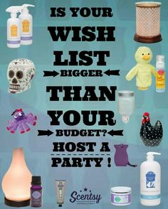 Host a party with me and earn free and half priced items on qualifying parties of $200 or more! Ask me for more details by visiting my website. Http://aprillrene.scentsy.us  Want more business from social media? zackswimsmm.tk