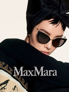 1c1669f770 Max Mara focuses on sunglasses for pre-fall 2018 campaign Fashion Editor