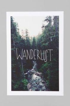 inspiration Leah Flores Wanderlust Art Print