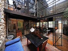 Love this warehouse conversion!