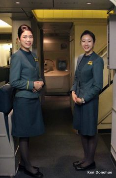 """The EVA Air stewardesses were determined the two men would not get away. They realised they were hiding in the Club Class lounge and cornered them there. """"The police are on their way, """" Suzie Wu called out to them. """"You're lying!"""" came the retort. It took the hostesses several minutes to coax them out of hiding. They emerged, showing no fight, and did not protest when Suzie and Mei securely bound their hands behind them. """"Now walk ahead!"""" Suzie ordered the two captives."""
