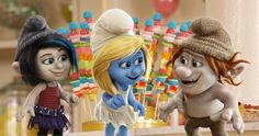 Smurfette and a couple of Naughties