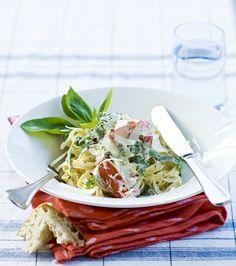 Nem aftensmad med pasta