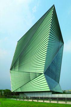 Centro para tecnologías de energía sostenible / Mario Cucinella Architects