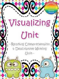 Visualizing and Descriptive Writing Unit Help Teaching, Teaching Strategies, Teaching Writing, In Writing, Writing Tips, Teaching Ideas, Group Activities, Writing Activities, Read Aloud Books