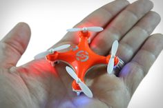 If you're a fan of all things remote controlled, or are just fascinated with drone culture and the growing interest surrounding it, the Nano Drone from Morrison Technologies looks like a great way to get started. The world's smallest quadcopter...