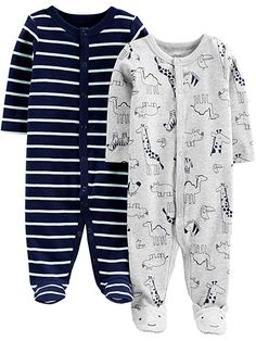 Jungen Spieler 3-Pack Jumpsuits Simple Joys by Carters Baby