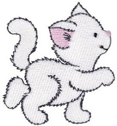 Precious Kittens 1 - 2 Sizes! | What's New | Machine Embroidery Designs | SWAKembroidery.com Bunnycup Embroidery
