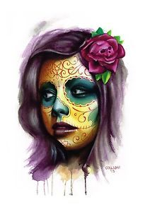 Badass watercolor